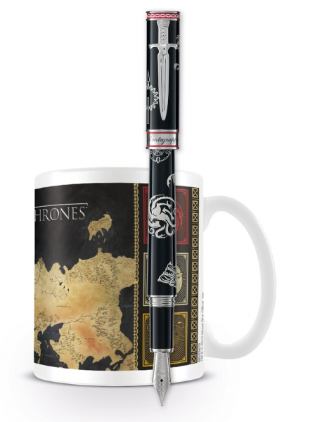 Westeros Fountain Pen + GoT Westeros Mug ( I1GOTTZM )
